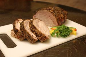 Encrusted Boneless Pork Roast