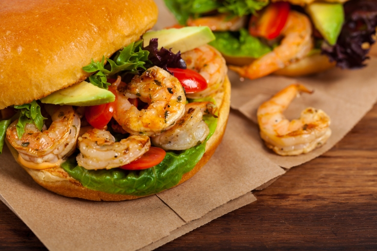 Cajun Shrimp Sliders